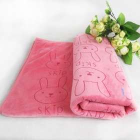 OkBuyNow Pet Drying Towel Absorbent Dog Cat Grooming Bath Towel 100% Microfiber attracts but won't trap fur- Xtra Large