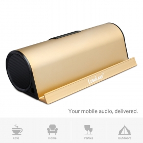 LuguLake 10Watt Bluetooth Speaker II Built-in 5000mAh External Battery Pack