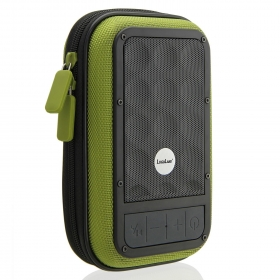 LuguLake Portable Outdoor Sport Speaker w/4000mAh External Battery Pack Charger For Smartphones