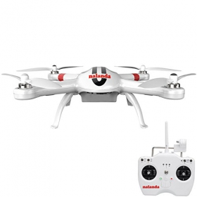Nalanda Multi Channel Professional RC Quadcopter Drone with Return Home Function, White