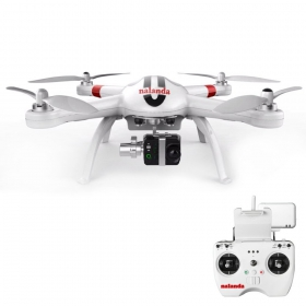 Nalanda Multi Channel 2.4GHz Professional RC Quadcopter Drone with Return Home Function, White