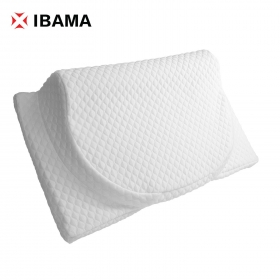 IBAMA Blood and Spirit Active Oxygen Ergonomic Memory Foam Pillow with Cool Gel, Adjustable Height and Helps You Sleep Better with Neck-Aligning Contours